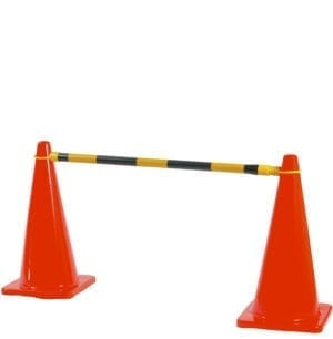 Traffic Cones and Chain